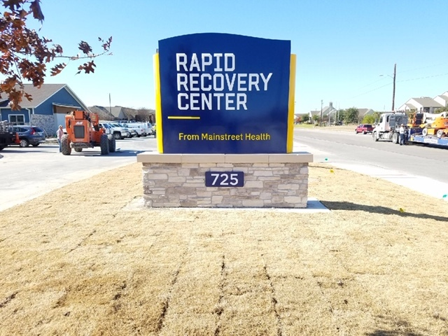 Monument Sign Rapid Recovery