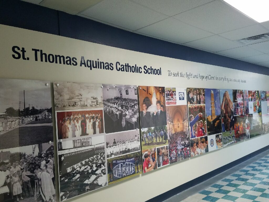 Interior Signs - St Thomas Aquinas