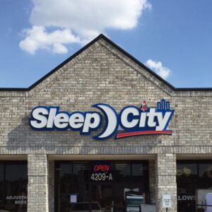 Channel Letters Sleep City