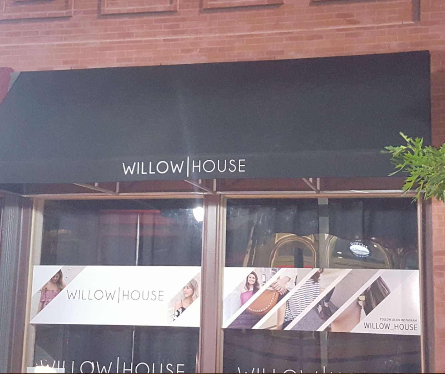 Willow House Awning