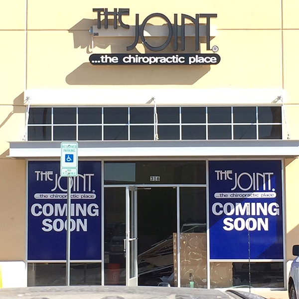 Window Graphics Channel Letters The Joint