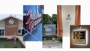 Variety of Business Sign Types